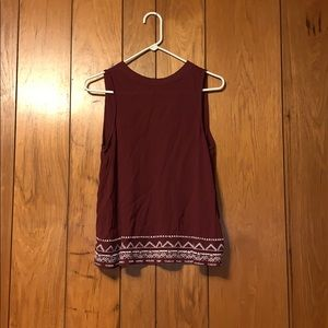 Love fire blouse